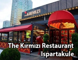 STEAKHOUSE ET RESTAURANT ISPARTAKULE THE KIRMIZI